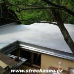 izolace terasy vč. spádového polystyrenu