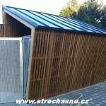 Plechová střecha KJG barvený