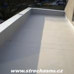 PVC izolace vč. oplechování atik