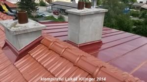 rekonstrukce střechy Brno, klempířské a pokrývačské práce