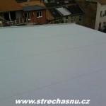 střecha provedena z fólie DEKPLAN 50m2