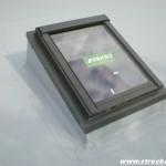 střešní okno v ploché střeše izolováno PVC fólií