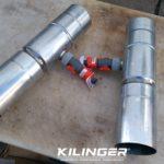 sběrač dešťové vody s vyústěním do hadice RHEINZINK 100mm