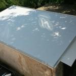 PVC izolace garáže 2016