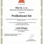 SIKA hydroizolace 2017