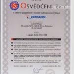 PVC izolace FATRAFOL 2013